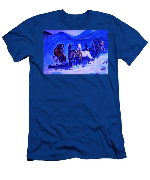 Move Over. Men's T-Shirt (Slim Fit) by Khalid Saeed