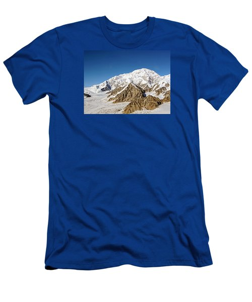 Mt Denali - Mount Mckinley Alaska Men's T-Shirt (Athletic Fit)