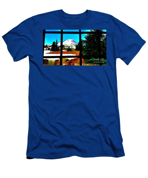 Mt. Hood View Men's T-Shirt (Athletic Fit)