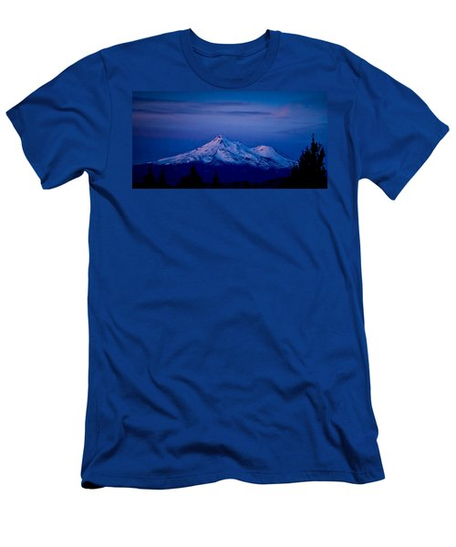 Mt Shasta At Sunrise Men's T-Shirt (Athletic Fit)