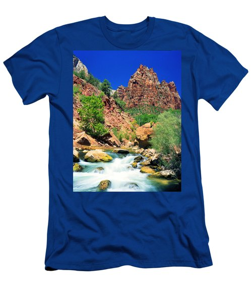 Mt.moroni / Virgin River Men's T-Shirt (Athletic Fit)