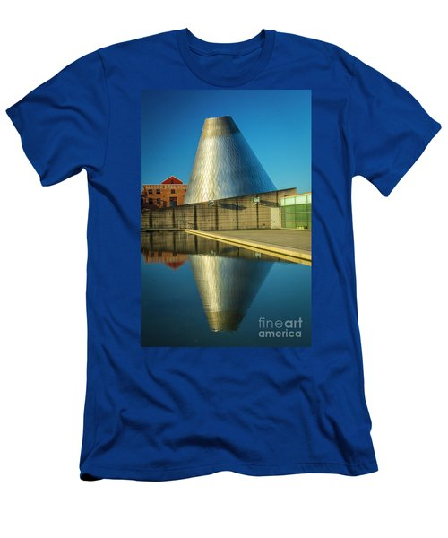 Museum Of Glass Tower Men's T-Shirt (Athletic Fit)