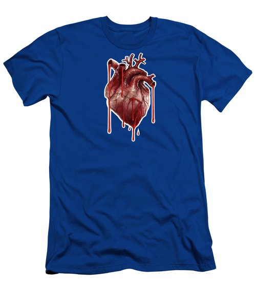 My Bleeding Heart Men's T-Shirt (Athletic Fit)