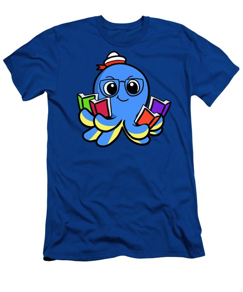 My Octopus Can Read Men's T-Shirt (Athletic Fit)