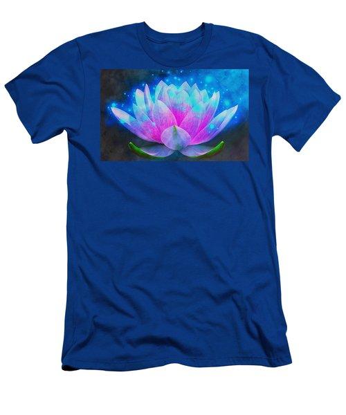 Mystic Lotus Men's T-Shirt (Athletic Fit)