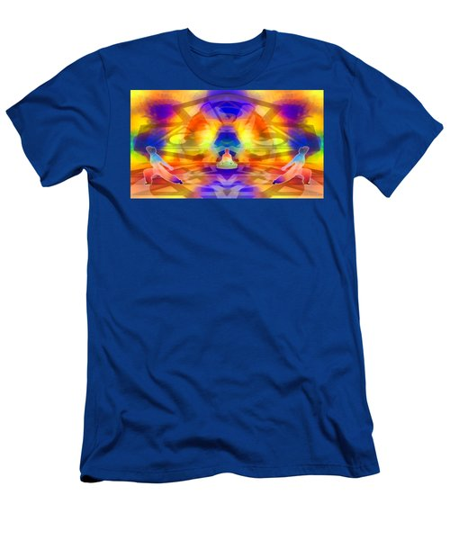 Men's T-Shirt (Athletic Fit) featuring the digital art Mystic Universe 12 by Derek Gedney