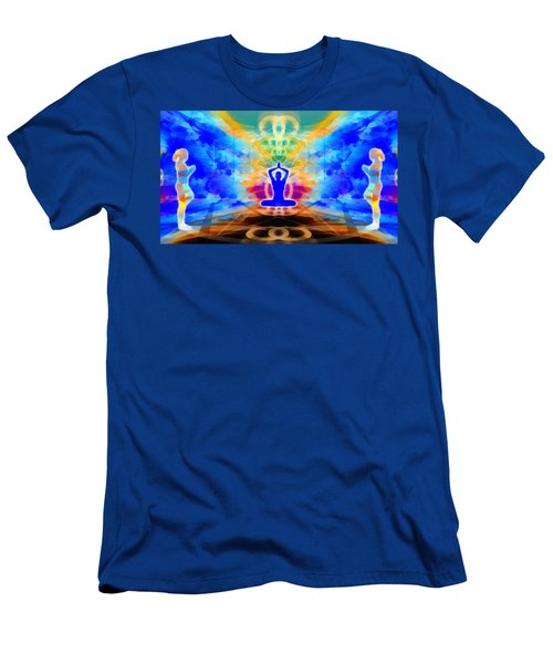 Men's T-Shirt (Athletic Fit) featuring the digital art Mystic Universe 13 by Derek Gedney