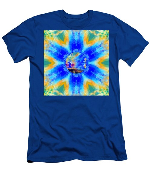 Men's T-Shirt (Athletic Fit) featuring the digital art Mystic Universe 13 Kk2 by Derek Gedney