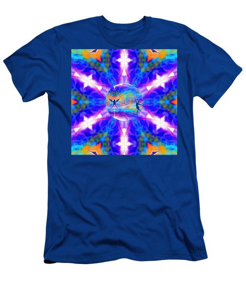 Men's T-Shirt (Athletic Fit) featuring the digital art Mystic Universe 15 Kk2 by Derek Gedney