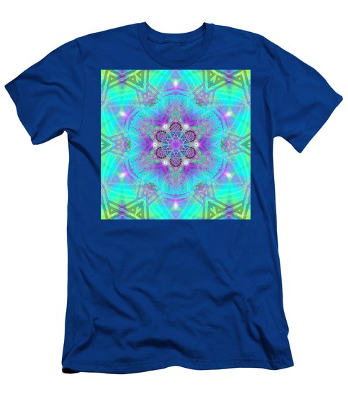 Men's T-Shirt (Athletic Fit) featuring the digital art Mystic Universe 8 Kk2 by Derek Gedney