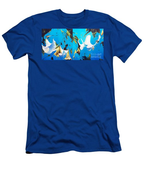Mysticoblue Men's T-Shirt (Athletic Fit)