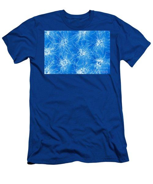 Nanowire Growth, Nanotechnology Men's T-Shirt (Athletic Fit)