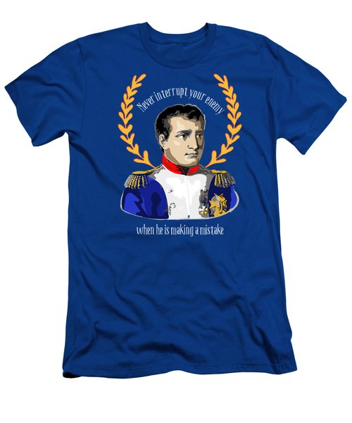 Napoleon Quote For Battlefield Or Boardroom Men's T-Shirt (Athletic Fit)