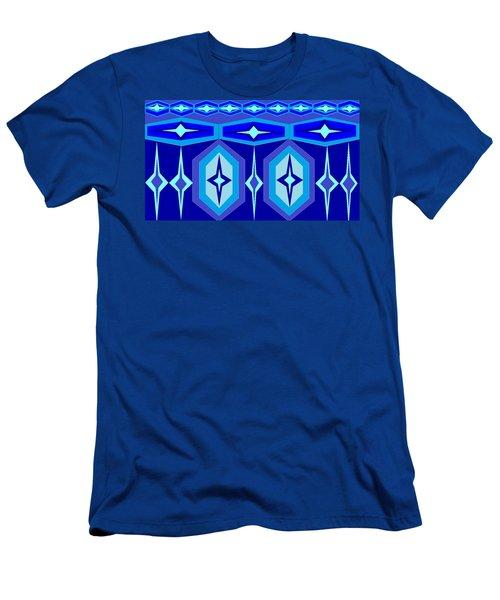 Navajo 7 Men's T-Shirt (Slim Fit) by Linda Velasquez