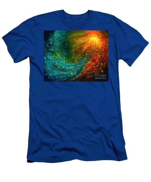 Nebulae  Men's T-Shirt (Athletic Fit)
