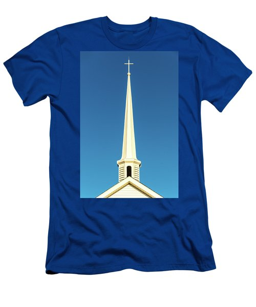 Needle-shaped Steeple Men's T-Shirt (Athletic Fit)