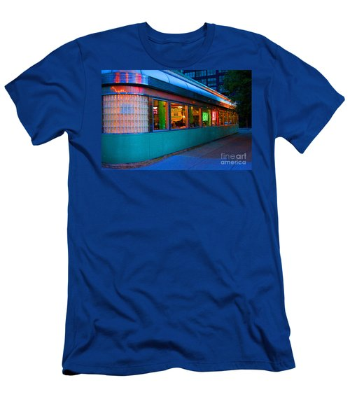 Neon Diner Men's T-Shirt (Athletic Fit)