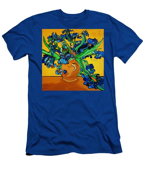 New Blue By You Men's T-Shirt (Slim Fit) by Nora Shepley