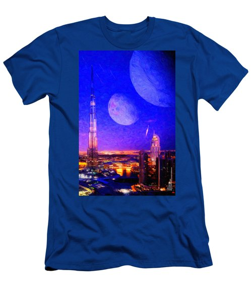 New Dubai On Tau Ceti E Men's T-Shirt (Athletic Fit)