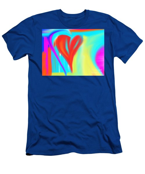 New Heart Men's T-Shirt (Athletic Fit)