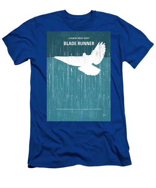 No011 My Blade Runner Minimal Movie Poster Men's T-Shirt (Athletic Fit)