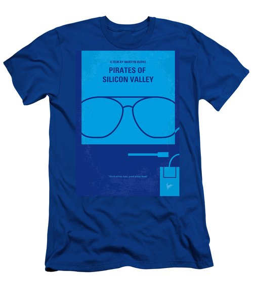 No064 My Pirates Of Silicon Valley Minimal Movie Poster Men's T-Shirt (Athletic Fit)