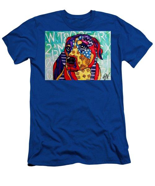 Norman  Men's T-Shirt (Slim Fit) by Jackie Carpenter