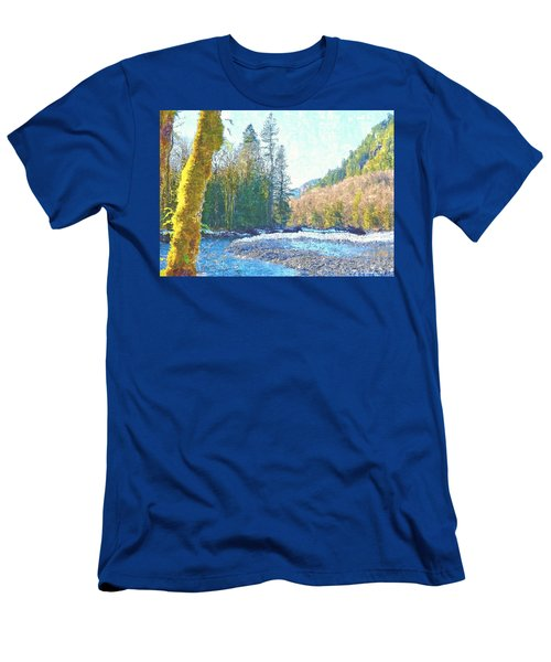 North Fork Of The Skykomish River Men's T-Shirt (Athletic Fit)