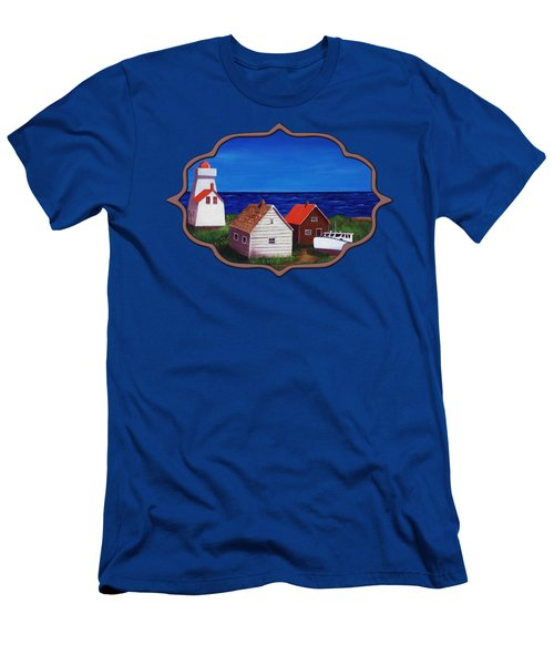 North Rustico - Prince Edwards Island Men's T-Shirt (Athletic Fit)