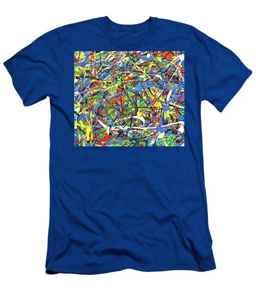 NOW Men's T-Shirt (Slim Fit) by Elf Evans
