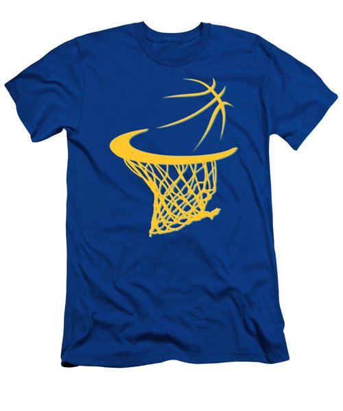 Nuggets Basketball Hoop Men's T-Shirt (Athletic Fit)