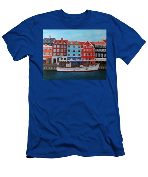 Nyhavn Copenhagen Men's T-Shirt (Athletic Fit)