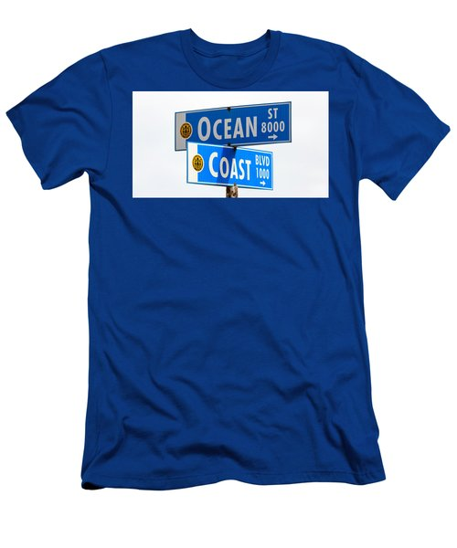 Ocean And Coast Men's T-Shirt (Athletic Fit)