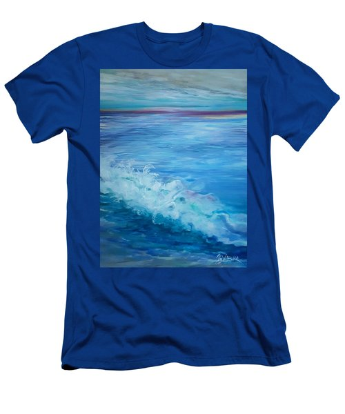 Ocean Blue Men's T-Shirt (Athletic Fit)