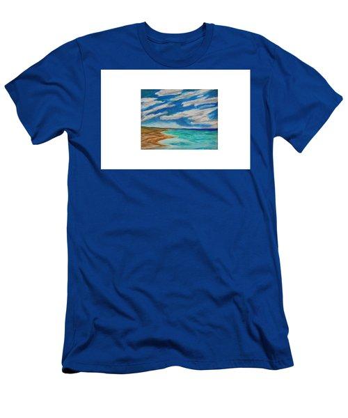 Ocean Clouds Men's T-Shirt (Athletic Fit)