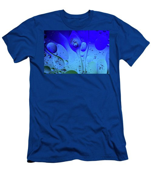 Oil And Water 12 Men's T-Shirt (Slim Fit) by Jay Stockhaus