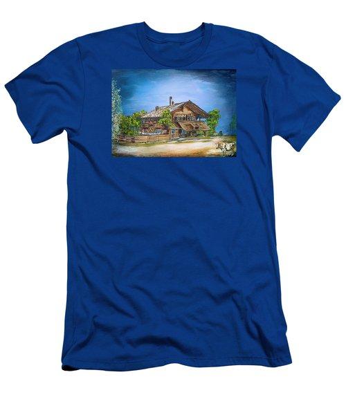 Old Cottage Men's T-Shirt (Athletic Fit)