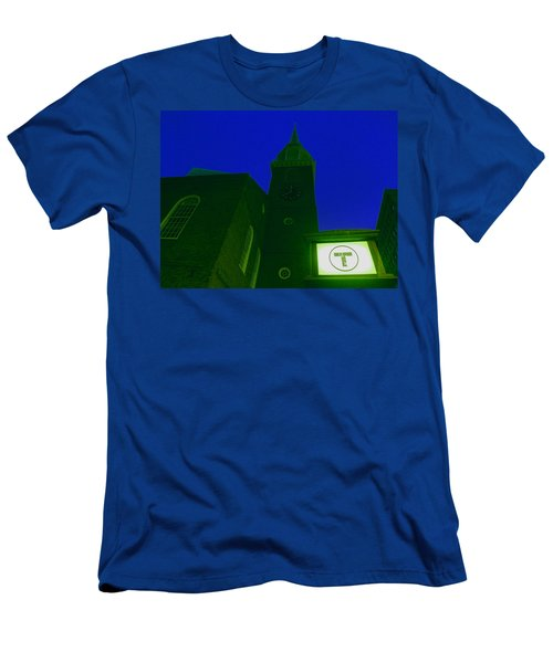 Old South Meeting House Men's T-Shirt (Athletic Fit)