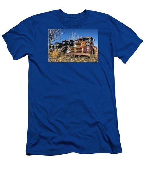 Old Trucks Men's T-Shirt (Athletic Fit)