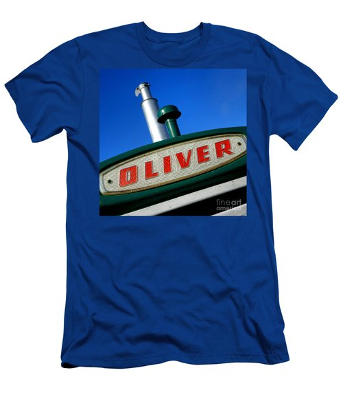 Oliver Tractor Nameplate Men's T-Shirt (Athletic Fit)