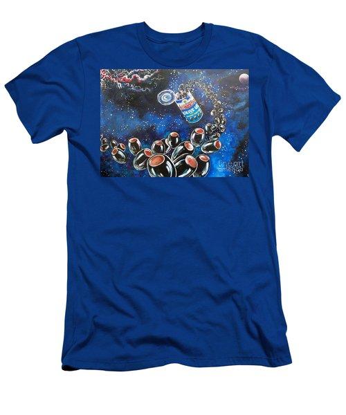 Blaa Kattproduksjoner                     Oliveus Are Canned Together Can Men's T-Shirt (Athletic Fit)