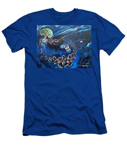 Blaa Kattproduksjoner          Oliveus Are Canned Together Men's T-Shirt (Athletic Fit)