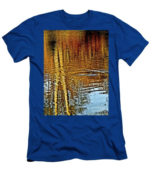 On Golden Pond Men's T-Shirt (Slim Fit) by Carol F Austin