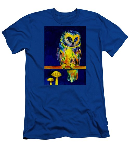 On The Fence Men's T-Shirt (Slim Fit) by Vivien Rhyan