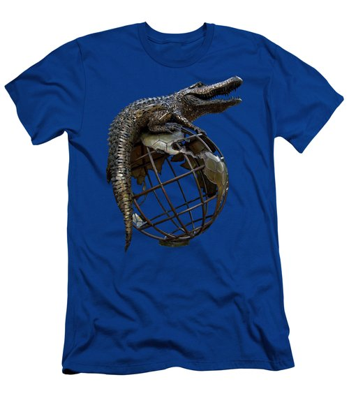 On Top Of The World Transparent For T Shirts Men's T-Shirt (Slim Fit) by D Hackett