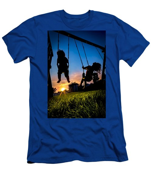 One Last Swing Men's T-Shirt (Athletic Fit)