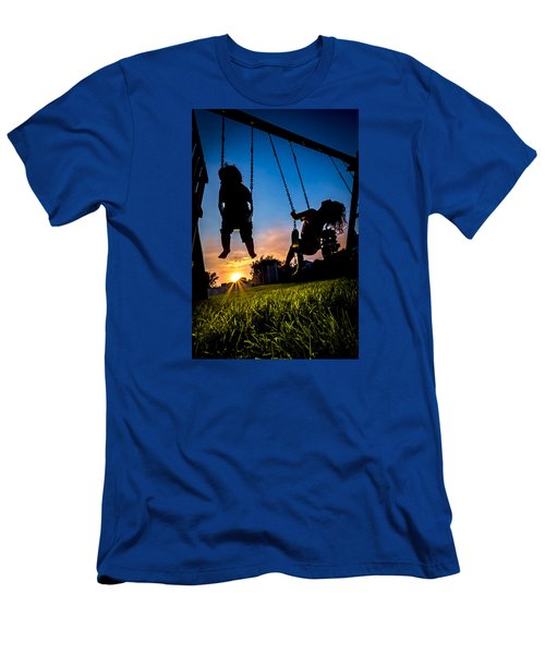 One Last Swing Men's T-Shirt (Athletic Fit)