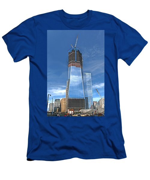 One World Trade Men's T-Shirt (Athletic Fit)