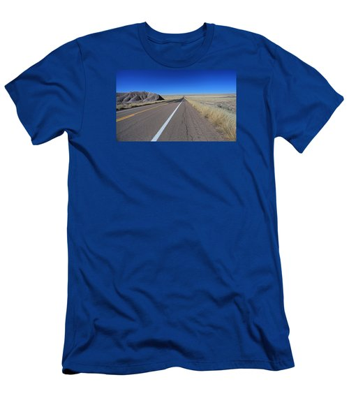Men's T-Shirt (Slim Fit) featuring the photograph Open Road by Gary Kaylor