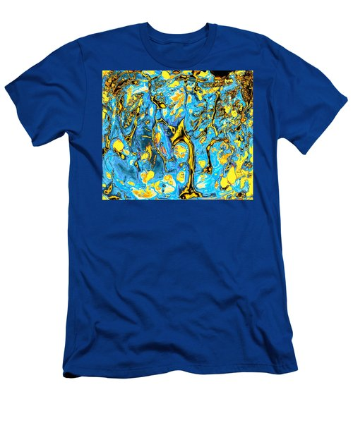 Men's T-Shirt (Athletic Fit) featuring the painting Opportunities by Anastasiya Malakhova